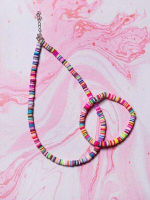 kolorowa biżuteria na lato