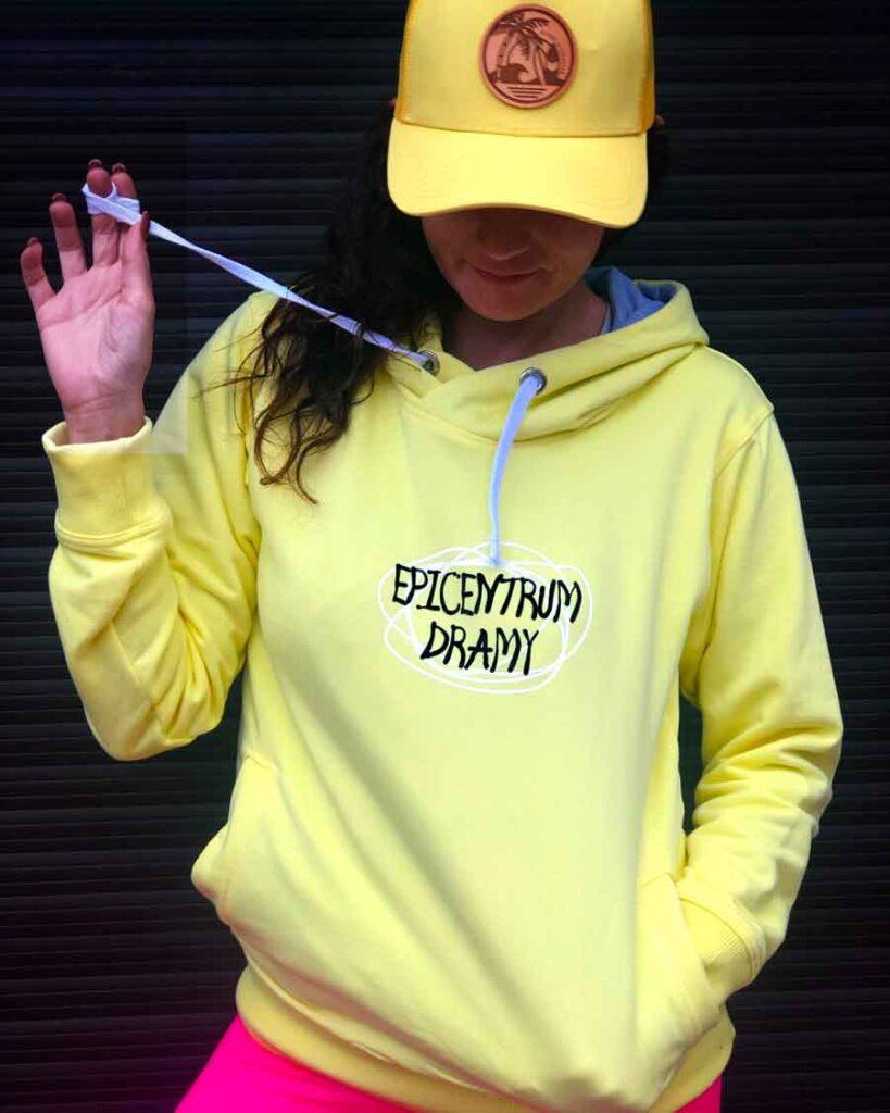 Żółta bluza damska Epicentrum dramy