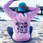 różowa bluza damska ahoj przygodo